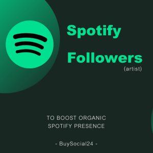 Buy Spotify Followers
